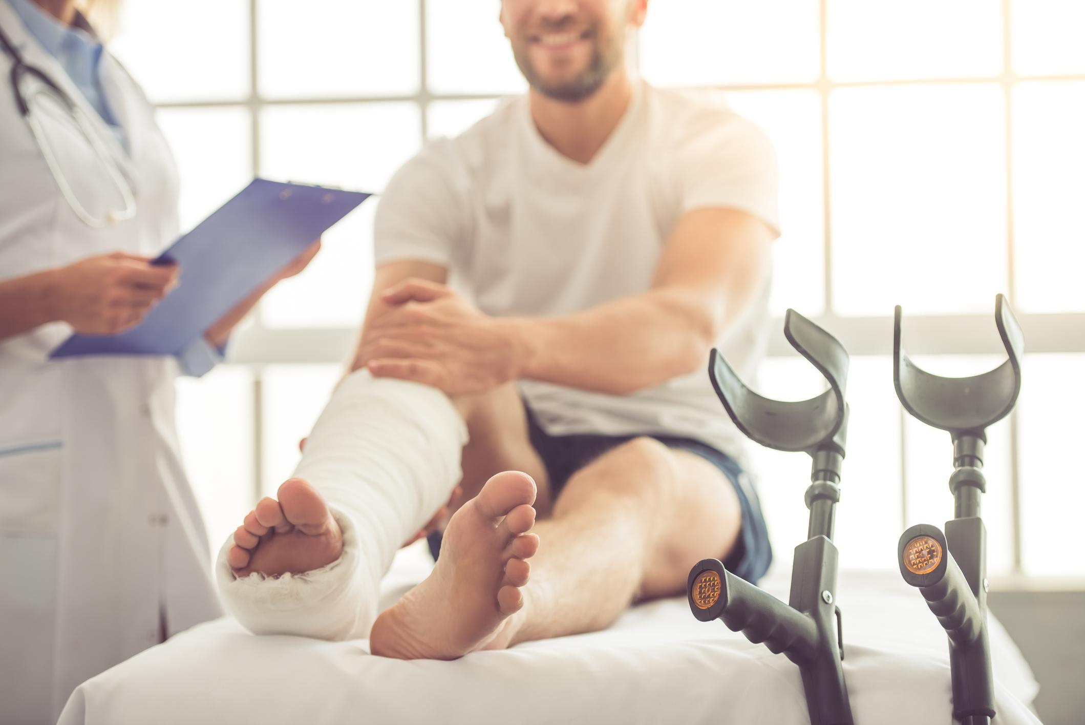Facharzt Omid Raissi Unfallversorgung
